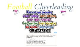 Football Cheerleading!