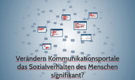 Verändern Soziale Netzwerke das Verhalten?