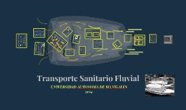 transporte sanitario Fluvial