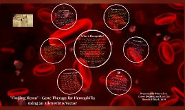 Hemophilia Gene Therapy