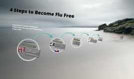 4 steps to become flu free