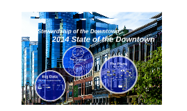 Copy of Copy of State of the Downtown
