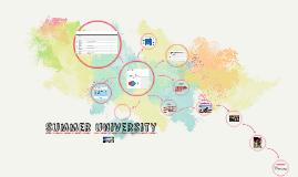 Summer university