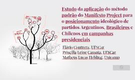 Estudo da aplicação do método padrão do Manifesto Project pa