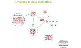 A viscose e seus derivados.