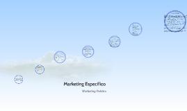 Marketing Especifico