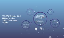 Copy of TELPAS Training 2015