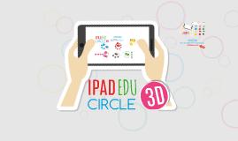 FREE TEMPLATE - Ipad Edu Circle 3D
