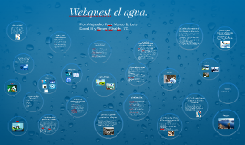 Webquest el agua.