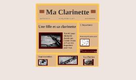 Ma Clarinette