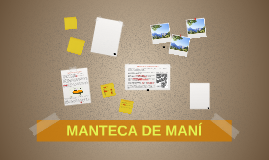 MANTECA DE MANÍ