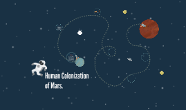 Human Colonization of Mars.