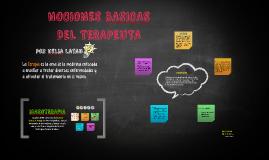 NOCIONES BASICAS DEL TERAPEUTA