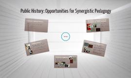 Public History Pedagogy