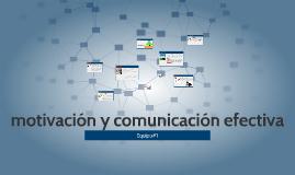 motivación y comunicación efectiva