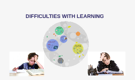 Difficulties with learning