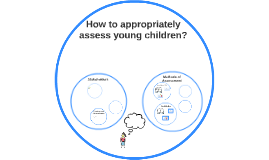 How to appropriately assess young children?