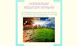 CONTAMINANT MIGRATION PATHWAY
