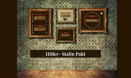 Hitler- Stalin Pakt