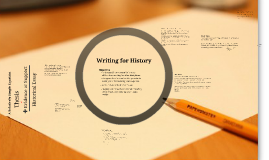 Writing in History