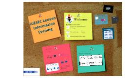 AIESEC Leuven Information Evening