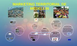 MARKETING TERRITORIAL DE MEDELLIN