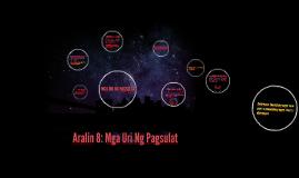 Copy of MGA URI NG PAGSULAT
