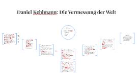 Copy of Daniel Kehlmann: Die Vermessung der Welt