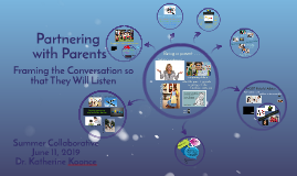 Partnering with Parents Summer Collaborative 2019
