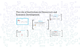 Democracy: economic development and the role of institutions