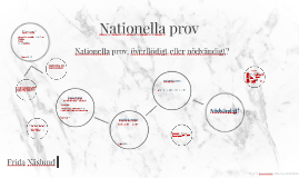 Nationella prov