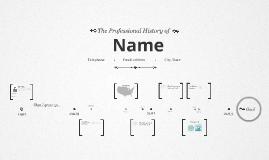 Copy of Timeline Prezumé by Melissa Rodrigues