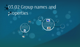 03.02 Group names and properties