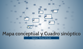 Resea histrica de la tabla peridica by sebastan cadena on prezi mapa conceptual y cuadro sinptico urtaz Gallery
