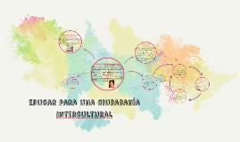 Copy of Educar para una ciudadanía intercultural