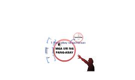 MGA URI NG PANG-ABAY