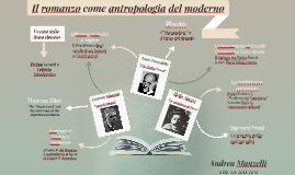 Il romanzo come antropologia del moderno