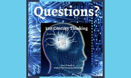 21st Century Thinking
