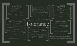 Tolerance in Mockingjay