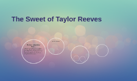 The Sweet of Taylor Reeves