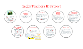 Techy Teachers ID Project Poster