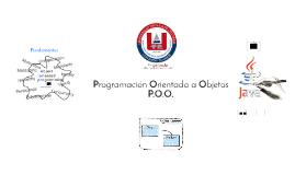 ProgramaciónOrientadaObjetos