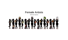 Copy of Copy of Female Artists