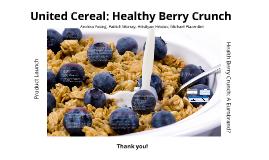 United Cereal: Lora Brill's Eurobrand Challenge