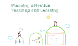 Copy of Planning Effective Teaching and Learning