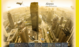 Aleppo: A Remote Sensing Change Analysis