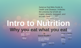 Intro to Nutrition (1)