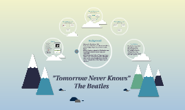 """Tomorrow Never Knows"""