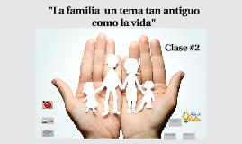 La familia : un tema tan antiguo como la vida