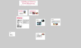 Childhood Obesity: Food Marketing